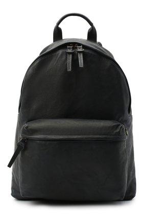 Мужской кожаный рюкзак OFFICINE CREATIVE черного цвета, арт. 0C PACK/R0ME | Фото 1