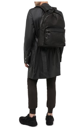 Мужской кожаный рюкзак OFFICINE CREATIVE черного цвета, арт. 0C PACK/R0ME | Фото 2