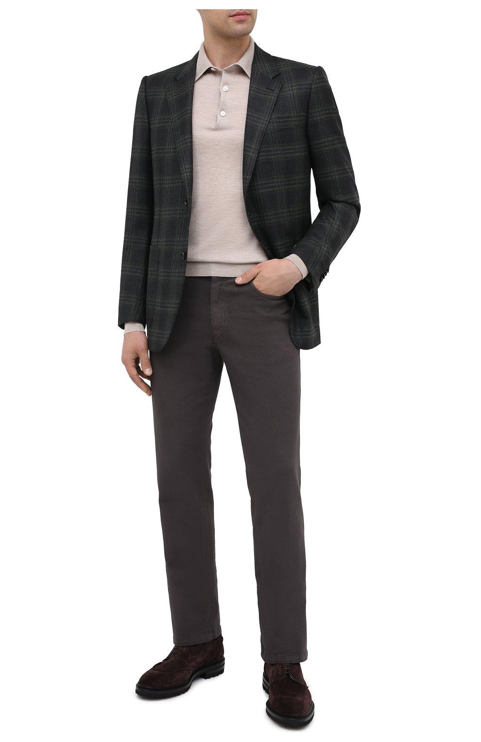 Мужские джинсы BRIONI коричневого цвета, арт. SPNJ0M/08T01/STELVI0 | Фото 3