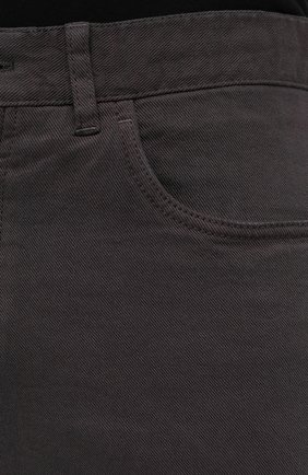 Мужские джинсы BRIONI коричневого цвета, арт. SPNJ0M/08T01/STELVI0 | Фото 6