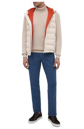 Мужские джинсы BRIONI голубого цвета, арт. SPNJ0M/08T01/STELVI0 | Фото 2