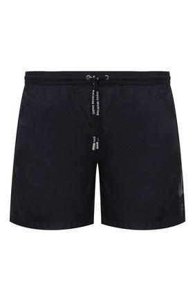 Детского плавки-шорты BALMAIN темно-синего цвета, арт. BWB640080 | Фото 1
