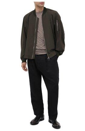 Мужские кожаные челси OFFICINE CREATIVE черного цвета, арт. ANAT0MIA/14/0LD BUFAL0 | Фото 2