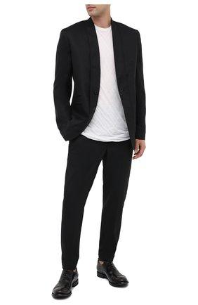 Мужские кожаные оксфорды OFFICINE CREATIVE черного цвета, арт. ANAT0MIA/15/0LD BUFAL0 | Фото 2