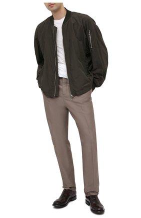 Мужские кожаные оксфорды OFFICINE CREATIVE темно-коричневого цвета, арт. BALANCE/006/AER0 BUFAL0 | Фото 2