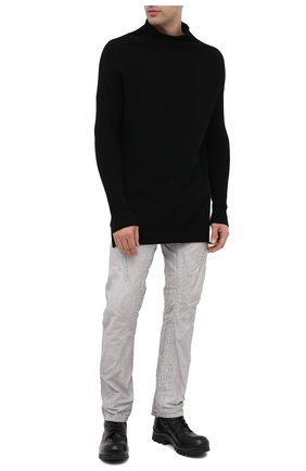 Мужские кожаные ботинки OFFICINE CREATIVE черного цвета, арт. CLEANTREK/002/FI0RE LUX | Фото 2