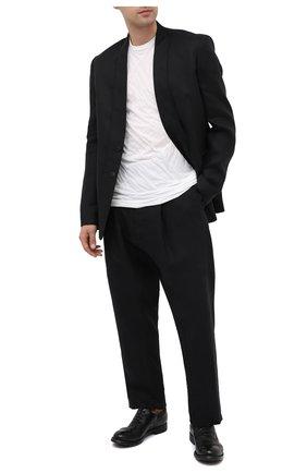Мужские кожаные оксфорды OFFICINE CREATIVE черного цвета, арт. HIVE/004/IGNIS T. | Фото 2