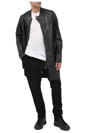 Мужские кожаные ботинки OFFICINE CREATIVE черного цвета, арт. KRACE/009/FRIDA/DEV0N | Фото 2