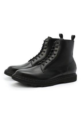 Мужские кожаные ботинки OFFICINE CREATIVE черного цвета, арт. LYD0N/004/M0UNTAIN | Фото 1