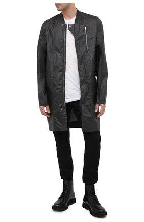Мужские кожаные ботинки OFFICINE CREATIVE черного цвета, арт. LYD0N/004/M0UNTAIN | Фото 2