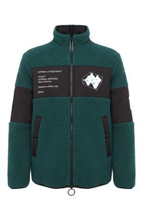 Мужская куртка OFF-WHITE зеленого цвета, арт. 0MKI015E20FAB0015701 | Фото 1