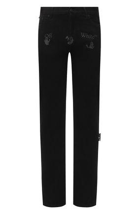 Мужские джинсы OFF-WHITE черного цвета, арт. 0MYA078E20DEN0031001 | Фото 1