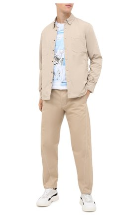 Мужская куртка-рубашка ASPESI бежевого цвета, арт. W0 I 7I29 9972 | Фото 2