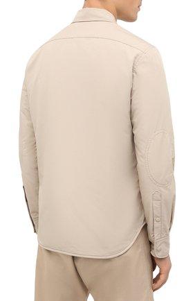 Мужская куртка-рубашка ASPESI бежевого цвета, арт. W0 I 7I29 9972 | Фото 4