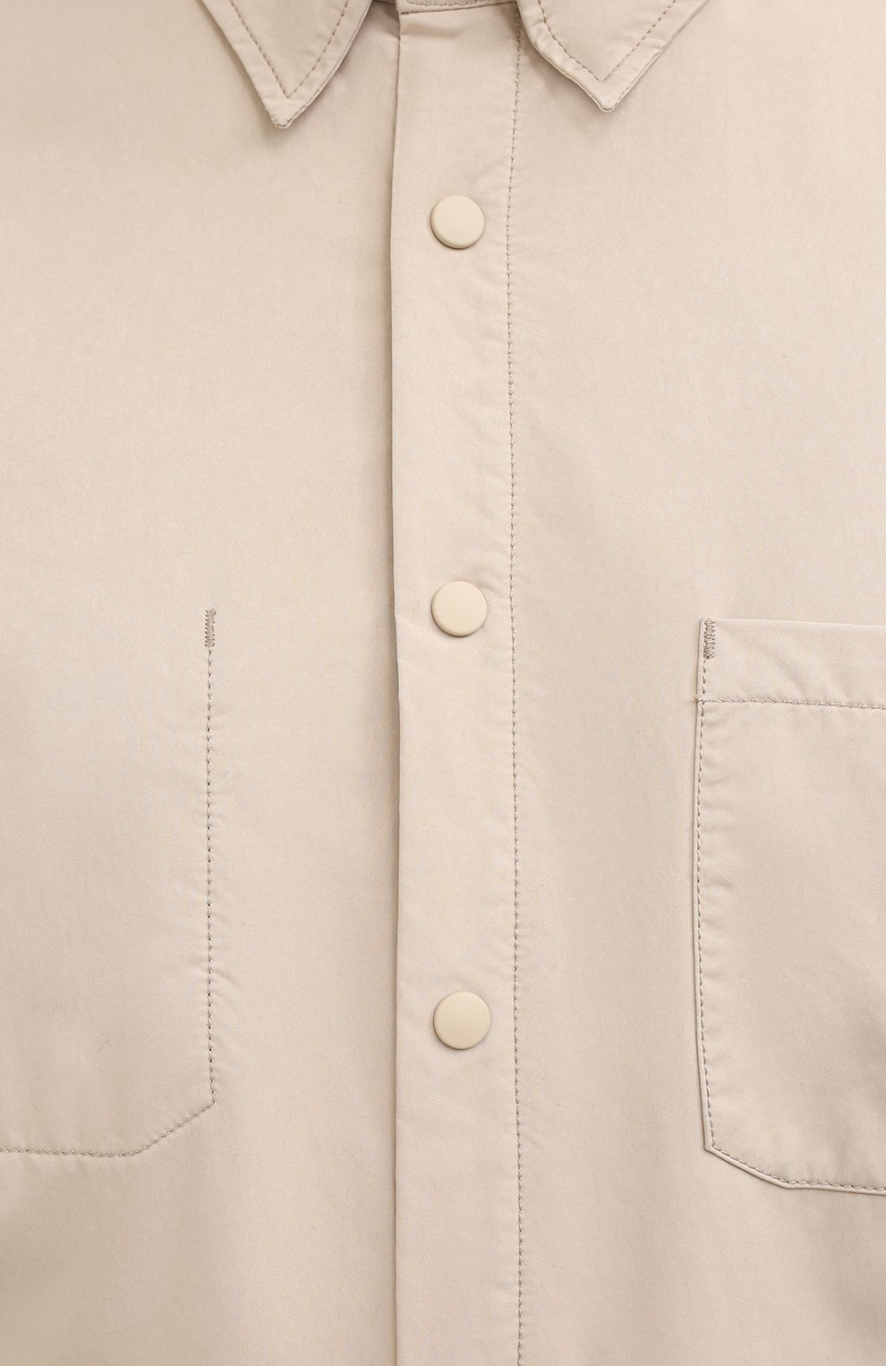 Мужская куртка-рубашка ASPESI бежевого цвета, арт. W0 I 7I29 9972 | Фото 5