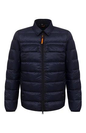 Мужская пуховая куртка ASPESI темно-синего цвета, арт. W0 I 0I05 L524 | Фото 1