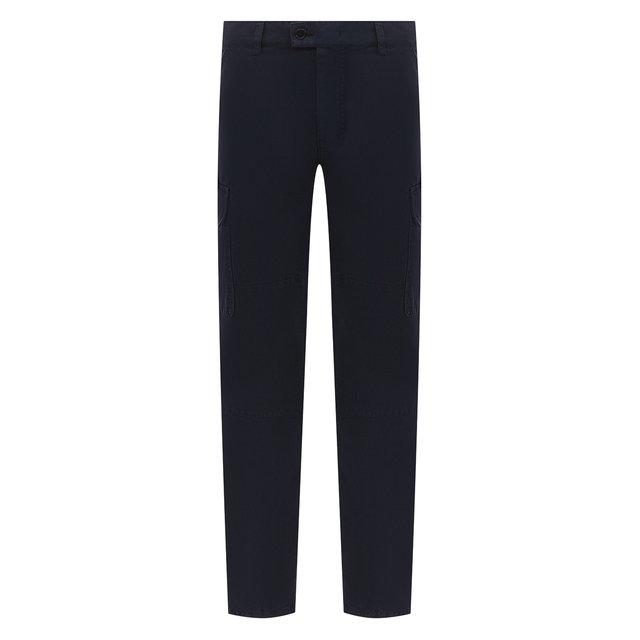 Хлопковые брюки-карго Aspesi.