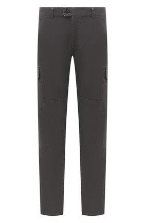 Мужской хлопковые брюки-карго ASPESI серого цвета, арт. W0 A CP31 A263 | Фото 1