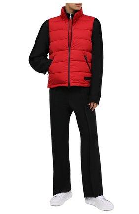 Мужской пуховый жилет ASPESI красного цвета, арт. W0 I I016 7954 | Фото 2