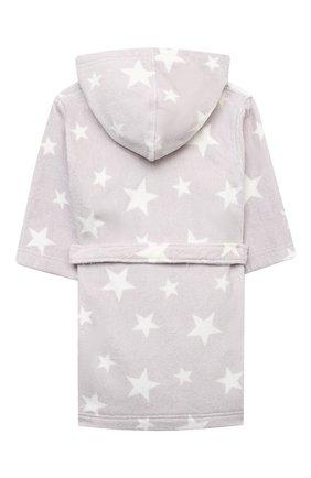 Детский хлопковый халат SANETTA светло-серого цвета, арт. 243903 | Фото 2