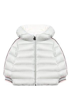 Детского комплект из куртки и брюк MONCLER светло-серого цвета, арт. F2-951-1F503-10-53048 | Фото 2