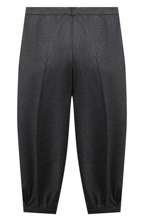 Детские шерстяные брюки GUCCI серого цвета, арт. 629508/XWALN | Фото 2