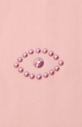 Детские колготки party collection YULA розового цвета, арт. YU-76 | Фото 2