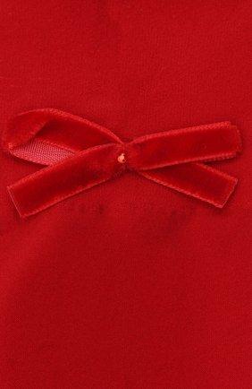 Детские гольфы бантики YULA красного цвета, арт. YU-28 | Фото 2