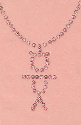 Детские колготки party collection YULA розового цвета, арт. YU-63 | Фото 2