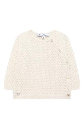 Детский комплект из пуловера и брюк TARTINE ET CHOCOLAT бежевого цвета, арт. TR36011/1M-1A | Фото 2