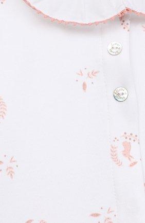 Детский хлопковый комбинезон TARTINE ET CHOCOLAT розового цвета, арт. TR54121/18M-3A | Фото 3