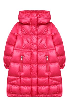 Детское пуховое пальто MONCLER фуксия цвета, арт. F2-954-1C506-10-539ST/4-6A | Фото 1