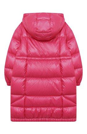 Детское пуховое пальто MONCLER фуксия цвета, арт. F2-954-1C506-10-539ST/4-6A | Фото 2