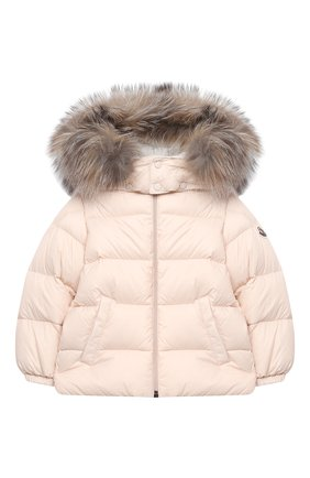 Детского комплект из куртки и брюк MONCLER светло-розового цвета, арт. F2-951-1F504-02-53079 | Фото 2