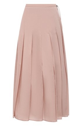 Женская юбка MONCLER розового цвета, арт. F2-093-2D712-00-C0068 | Фото 1