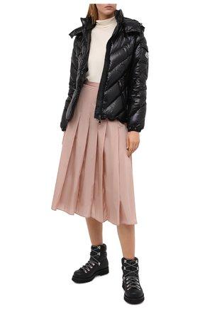 Женская юбка MONCLER розового цвета, арт. F2-093-2D712-00-C0068 | Фото 2