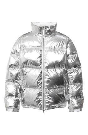 Мужская утепленная куртка VETEMENTS серебряного цвета, арт. UAH21JA924 1303/M | Фото 1