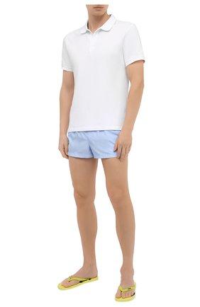 Детского плавки-шорты DOLCE & GABBANA голубого цвета, арт. M4A67T/FUSFW | Фото 2