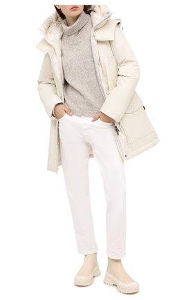 Женская пуховая парка WOOLRICH белого цвета, арт. CFWW0U0304FR/UT0001 | Фото 2