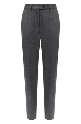 Женские брюки из шерсти и кашемира KITON серого цвета, арт. D38103K05N25 | Фото 1