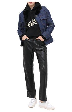 Женская джинсовая куртка TOM FORD синего цвета, арт. GID040-DEX109 | Фото 2