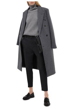 Женские кожаные лоферы TOD'S черного цвета, арт. XXW59C0DD40G0C | Фото 2