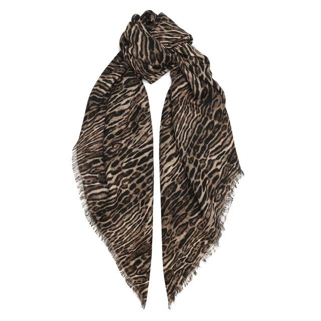 Шерстяной платок Saint Laurent