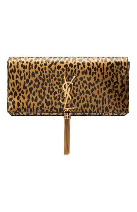 Женская сумка kate supple SAINT LAURENT леопардового цвета, арт. 604276/13N0J   Фото 1