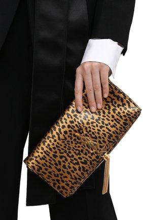 Женская сумка kate supple SAINT LAURENT леопардового цвета, арт. 604276/13N0J   Фото 2