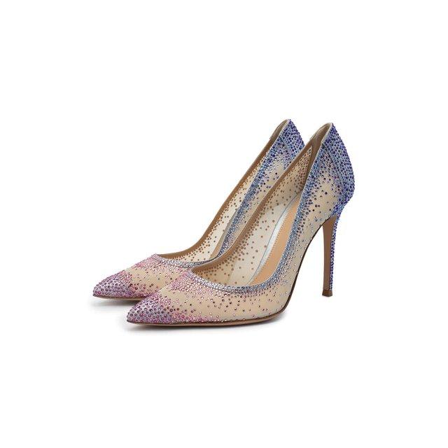 Текстильные туфли Rania Gianvito Rossi