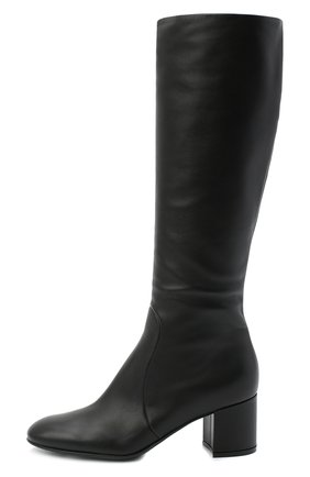 Женские кожаные сапоги GIANVITO ROSSI черного цвета, арт. G80473.60RIC.VGINER0   Фото 3