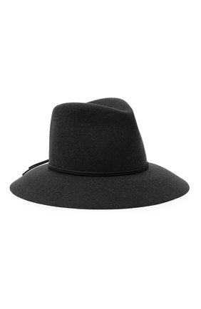 Женская шерстяная шляпа ISABEL MARANT темно-серого цвета, арт. CU0027-20A036A/KINLY | Фото 1