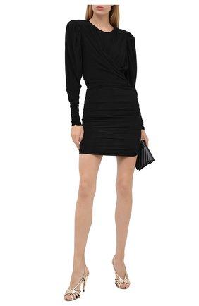 Женское платье ISABEL MARANT черного цвета, арт. R01774-20A033I/GHITA | Фото 2