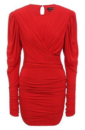 Женское платье ISABEL MARANT красного цвета, арт. R01774-20A033I/GHITA   Фото 1